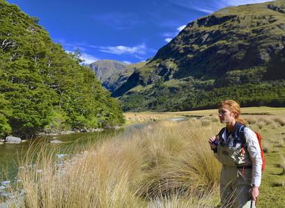 Fly fishing trips to New Zealand's high country in the South Island's Southern Alps is unforgettable.